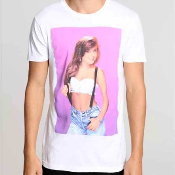 48b0351e Urban Outfitters Shirts | Saved By The Bell Kelly Kapowski Tshirt ...